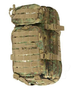 Vojenský batoh US ASSAULT PACK small Mil-Tec® - multicam