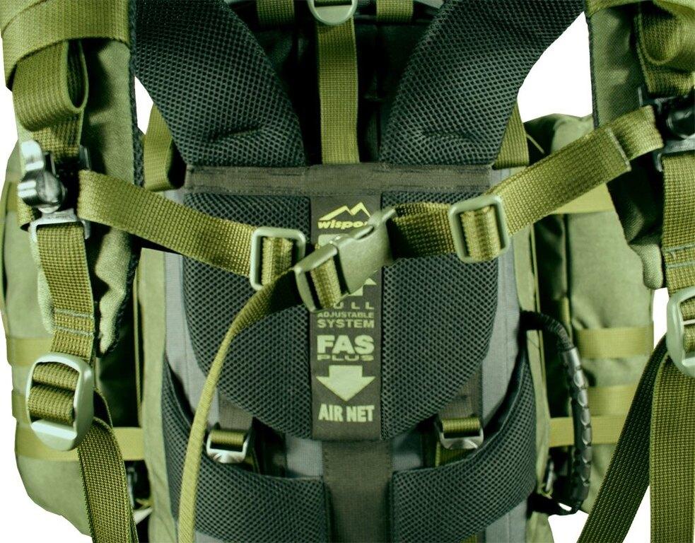 Vojenský batoh Wisport® Raccoonn 45l - oliv