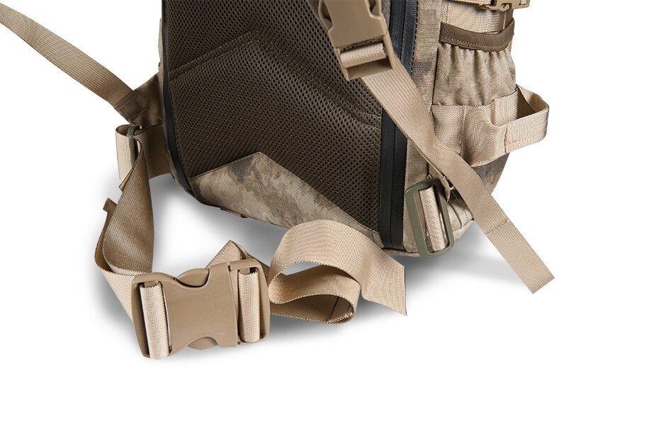 Vojenský batoh Wisport® Silver Fox - černý