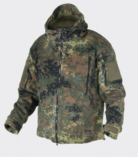 Fleecová bunda PATRIOT HF Helikon-Tex® - flecktarn