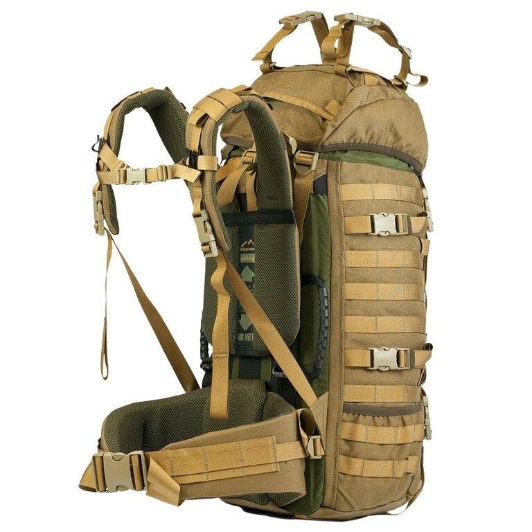 Vojenský batoh Wisport® Raccoon 45l - coyote