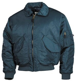 "Bunda MFH® Flight Jacket CWU ""Bomber""- navyblue"