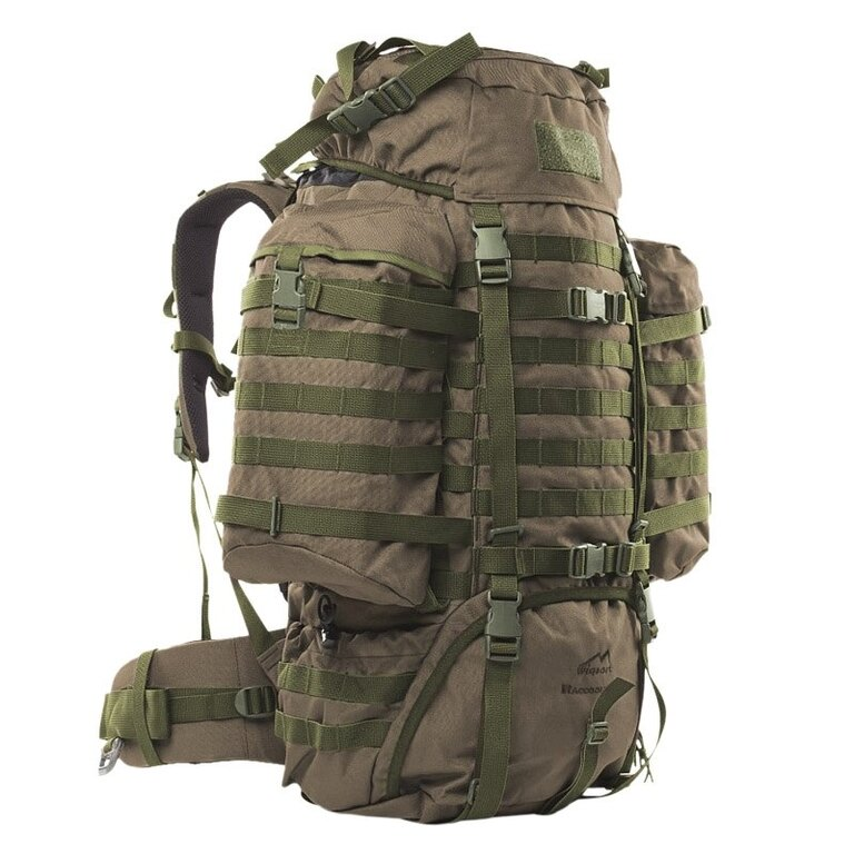 Vojenský batoh Wisport® Raccoon 65l - RAL - 7013