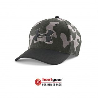 Kšiltovka UNDER ARMOUR® Closer 2.0 HeatGear® - artillery green
