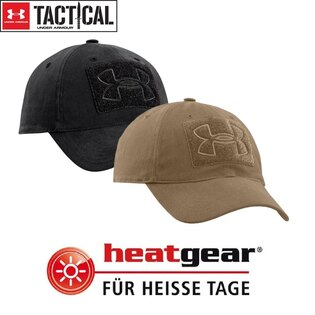 Kšiltovka UNDER ARMOUR® Tactical Patch HeatGear® - černá