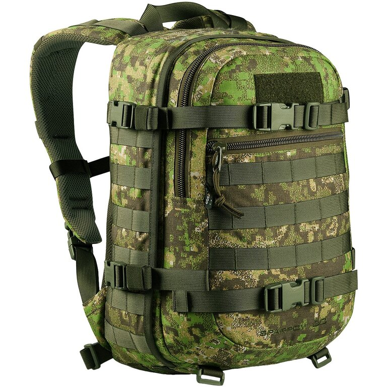 Vojenský batoh Wisport® Sparrow 20l - Pencott  GreenZone