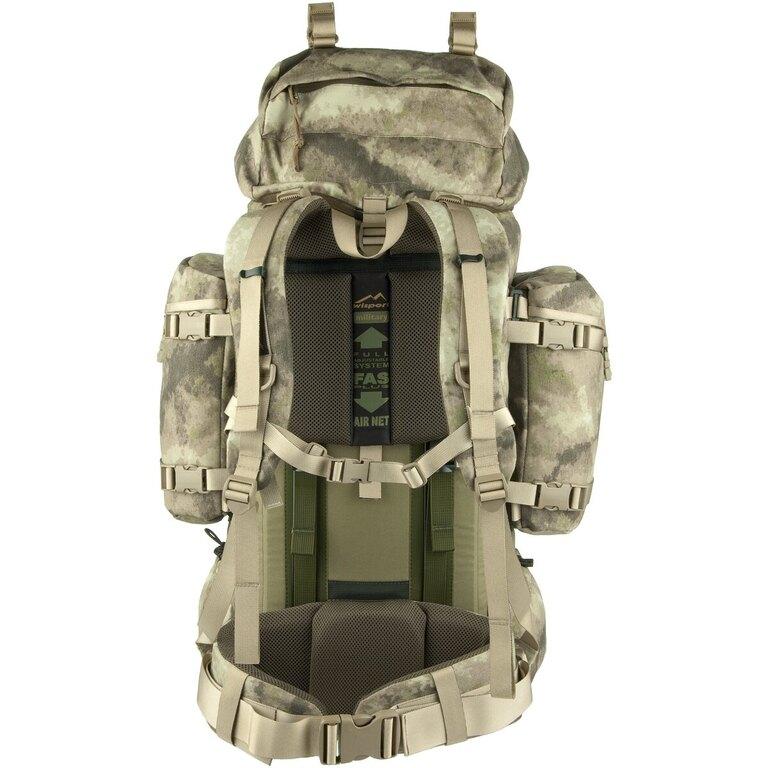 Vojenský batoh Wisport® Reindeer 75l - A- TACS AU