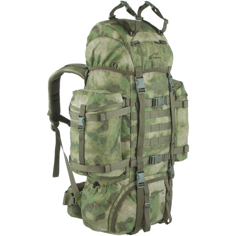Vojenský batoh Wisport® Reindeer 75l - A- TACS FG