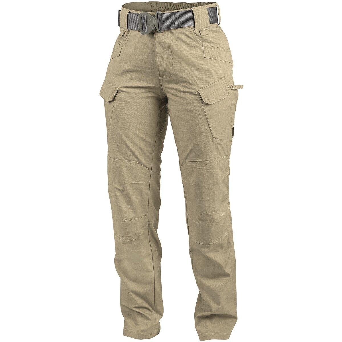 Levně Dámské kalhoty UTP® Helikon-Tex® Rip-Stop - Khaki (Barva: Khaki, Velikost: 28/32)