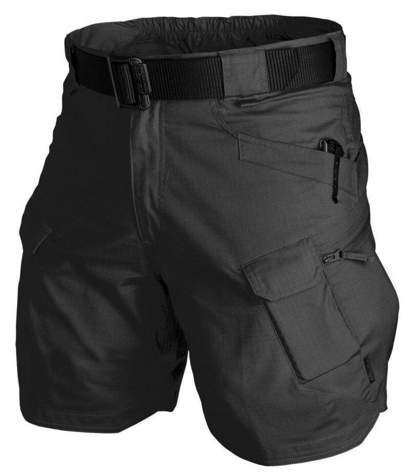 "Levně Kraťasy Urban Tactical 8.5"" UTL Helikon-Tex® Rip Stop – Černá (Barva: Černá, Velikost: XXL)"
