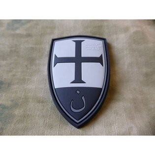 Nášivka JTG® Crusader Shield - blackops