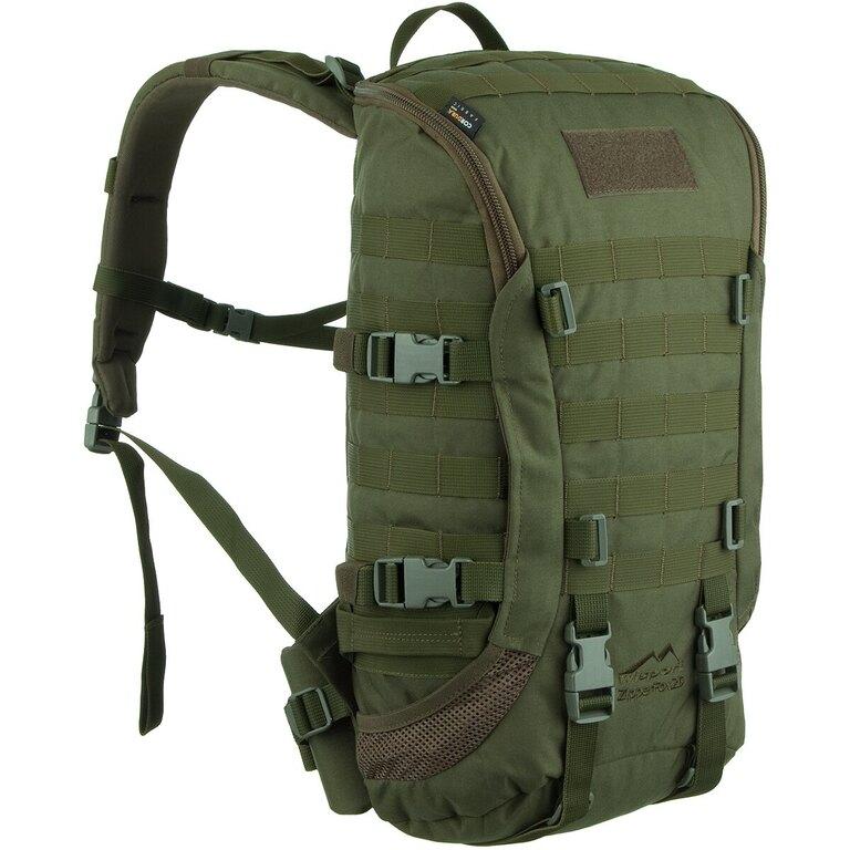 Vojenský batoh Wisport® ZipperFox 25 - olivově zelený 1