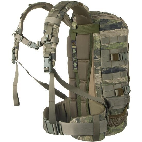 Vojenský batoh Wisport® ZipperFox 25 - A-TACS iX™ 2