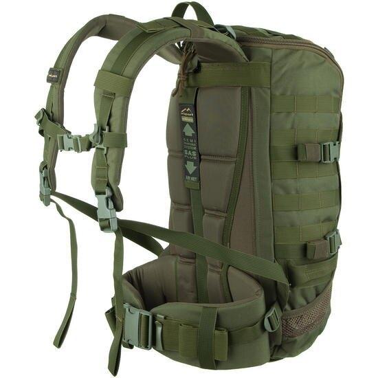 Vojenský batoh Wisport® ZipperFox 25 - olivově zelený 2