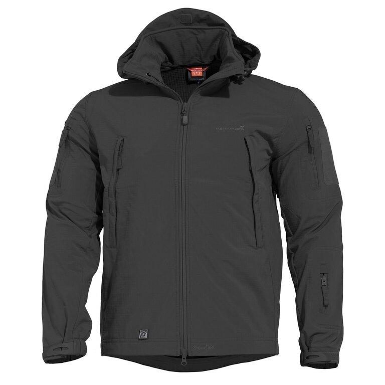 Taktická sofshellová bunda PENTAGON® ARTAXES SF Level IV - černá