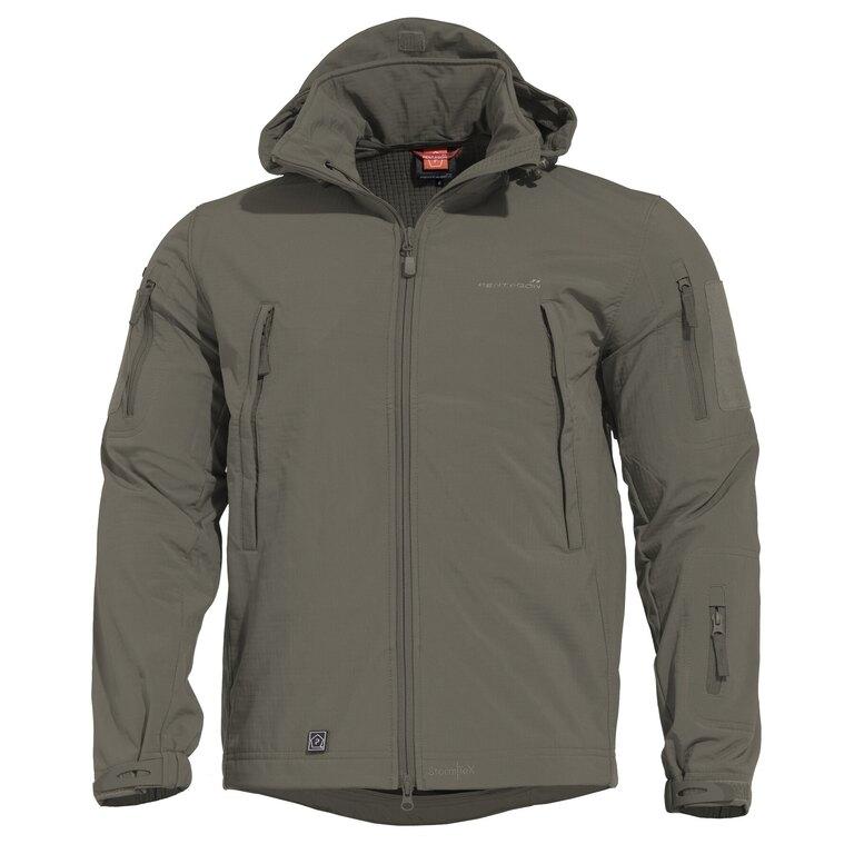 Taktická sofshellová bunda PENTAGON® ARTAXES SF Level IV – Grindle Green
