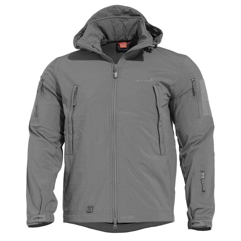 Taktická sofshellová bunda PENTAGON® ARTAXES SF Level IV – Wolf - Grey