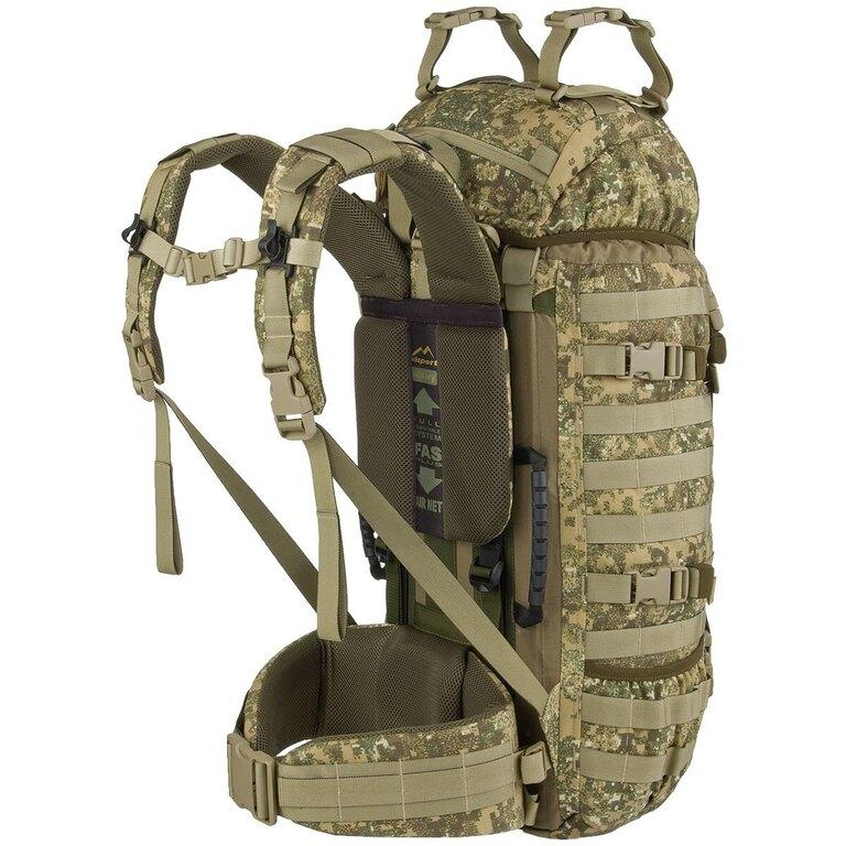 Vojenský batoh Wisport® Raccoon 45l - PenCott™ Badlands