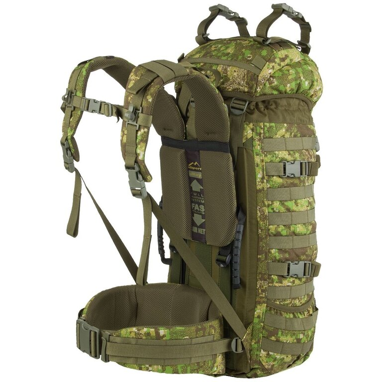Vojenský batoh Wisport® Raccoon 45l - PenCott™ GreenZone