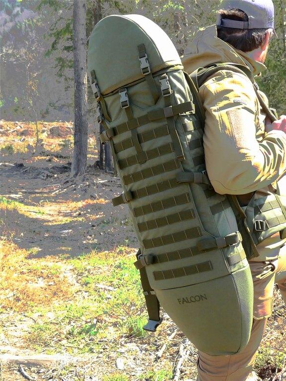 Batoh na zbraň Wisport® Falcon - oliv