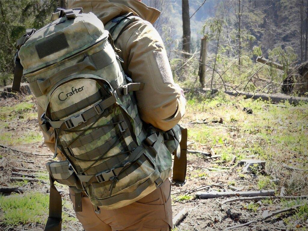 Vojenský batoh Wisport® Crafter 55 - A-TACS FG