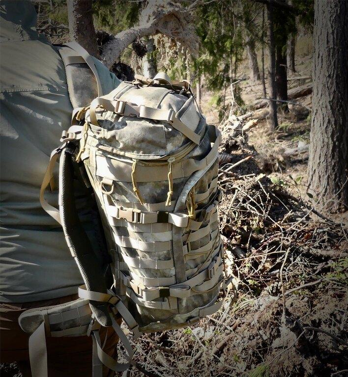 Vojenský batoh Wisport® Crafter 55 - A-TACS AU