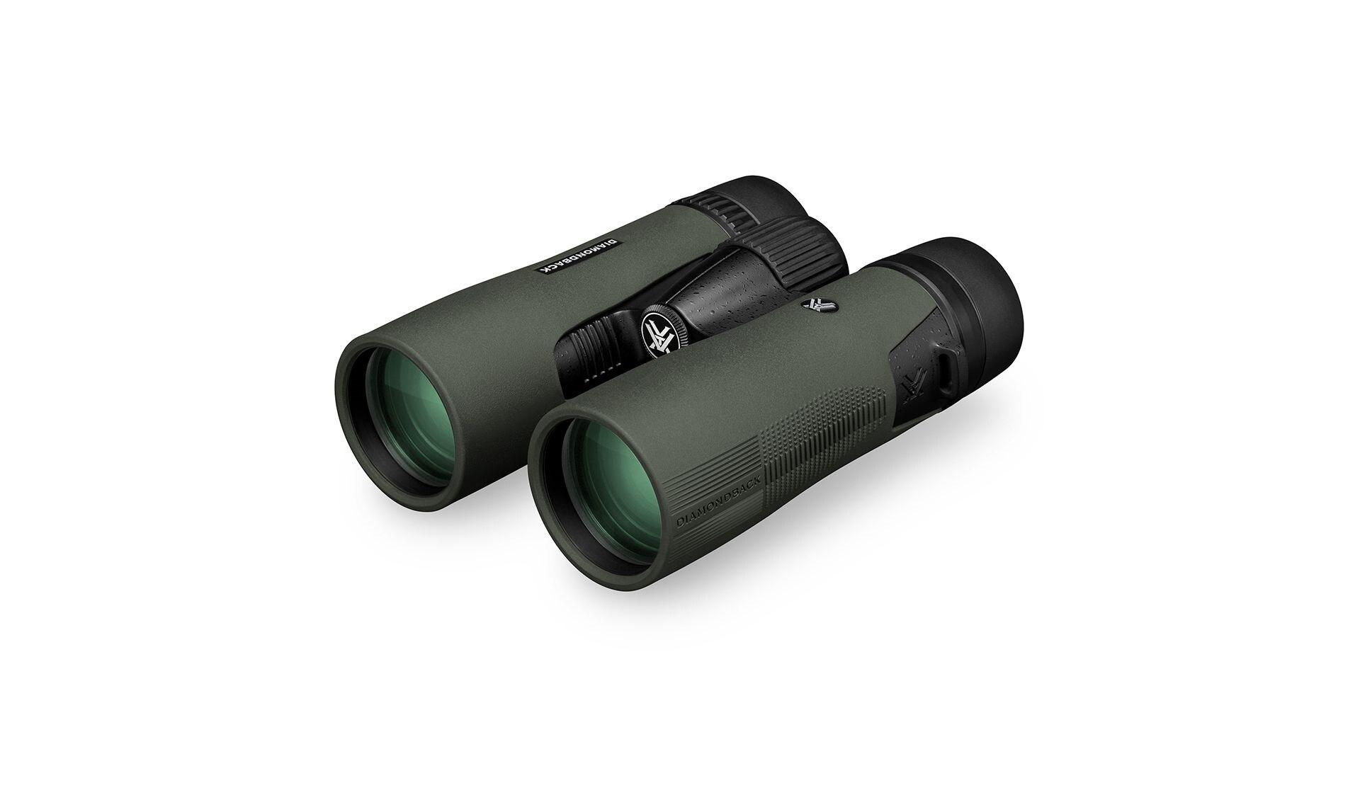 Dalekohled Diamondback HD 10x 42 Vortex® - zelený – Zelená (Barva: Zelená)