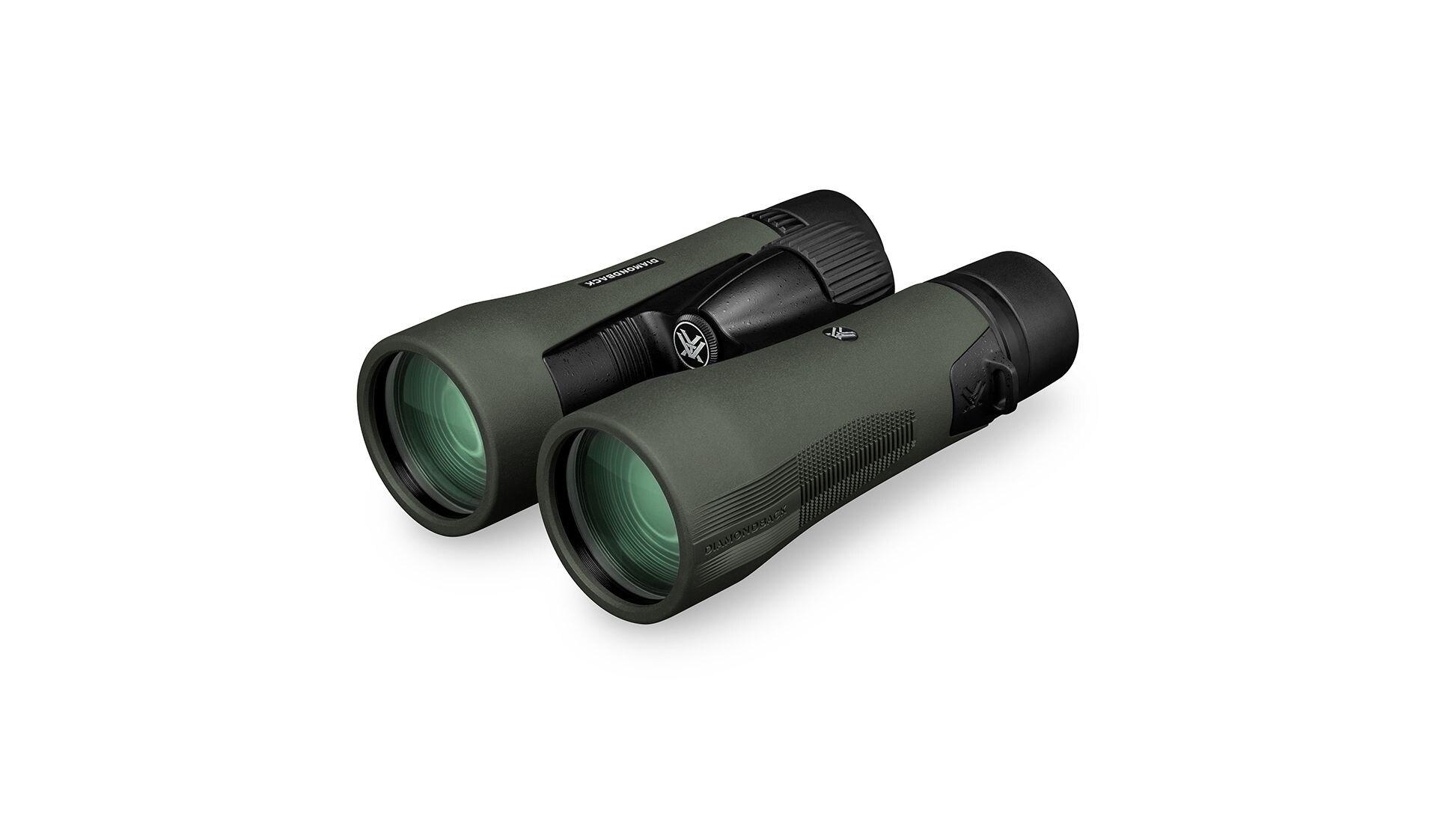 Dalekohled Diamondback HD 10x 50 Vortex® - zelený – Zelená (Barva: Zelená)