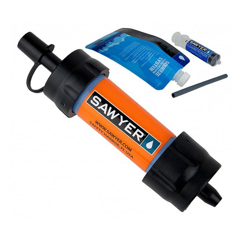 Levně Filtr na vodu SAWYER® MINI 128 – Oranžová (Barva: Oranžová)