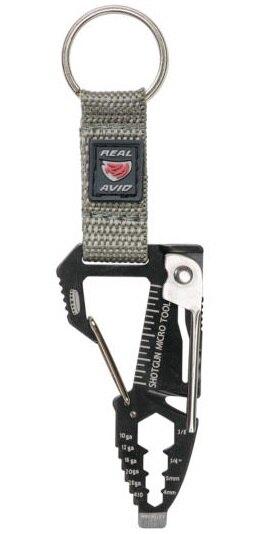 Real Avid® Shotgun Micro Tool – multifunkční nástroj – Černá / stříbrná (Barva: Černá / stříbrná)