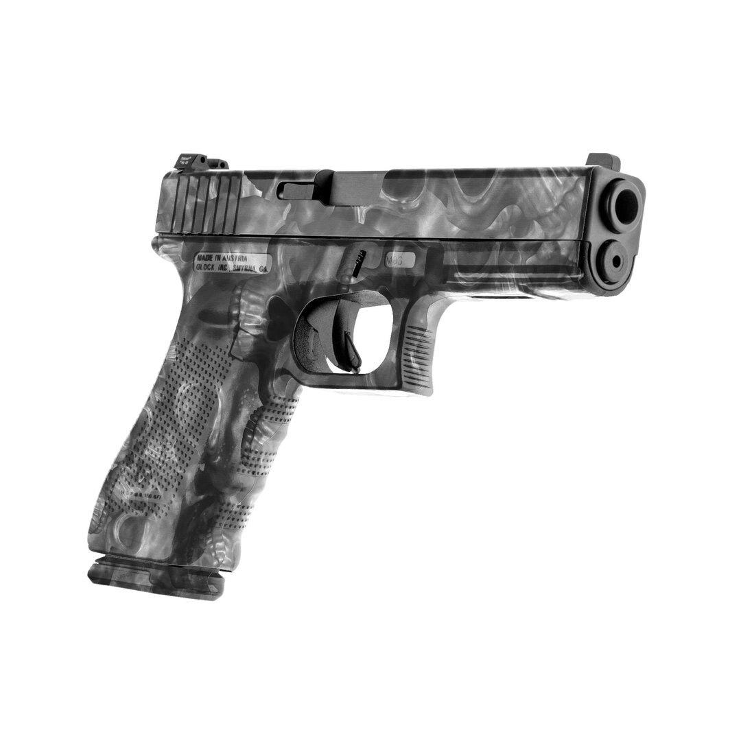 GunSkins® prémiový vinylový skin na pistoli – Proveil® Reaper Black™ (Barva: Proveil® Reaper Black™)
