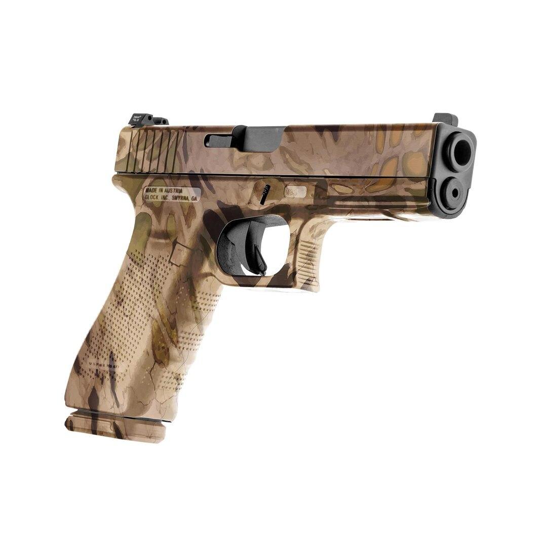 GunSkins® prémiový vinylový skin na pistoli – Prym1® Sand Storm™ (Barva: Prym1® Sand Storm™)