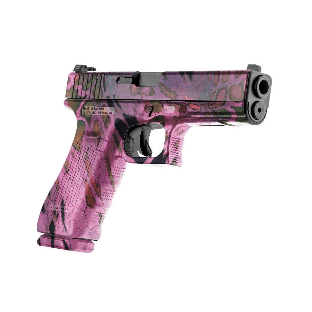 GunSkins® prémiový vinylový skin na pistoli – Růžová (Barva: Růžová)