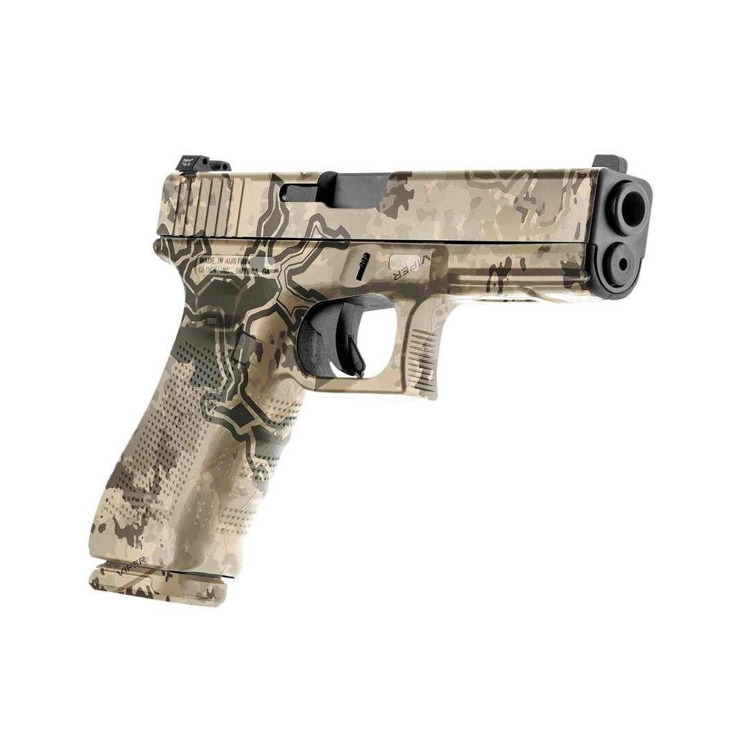 GunSkins® prémiový vinylový skin na pistoli – TrueTimber® Viper Western™ (Barva: TrueTimber® Viper W