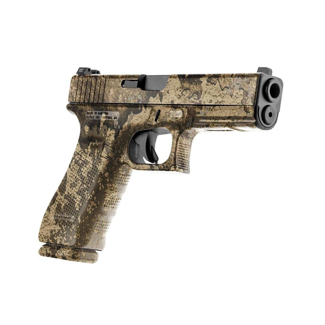 GunSkins® prémiový vinylový skin na pistoli – TrueTimber® Prairie™ (Barva: TrueTimber® Prairie™)