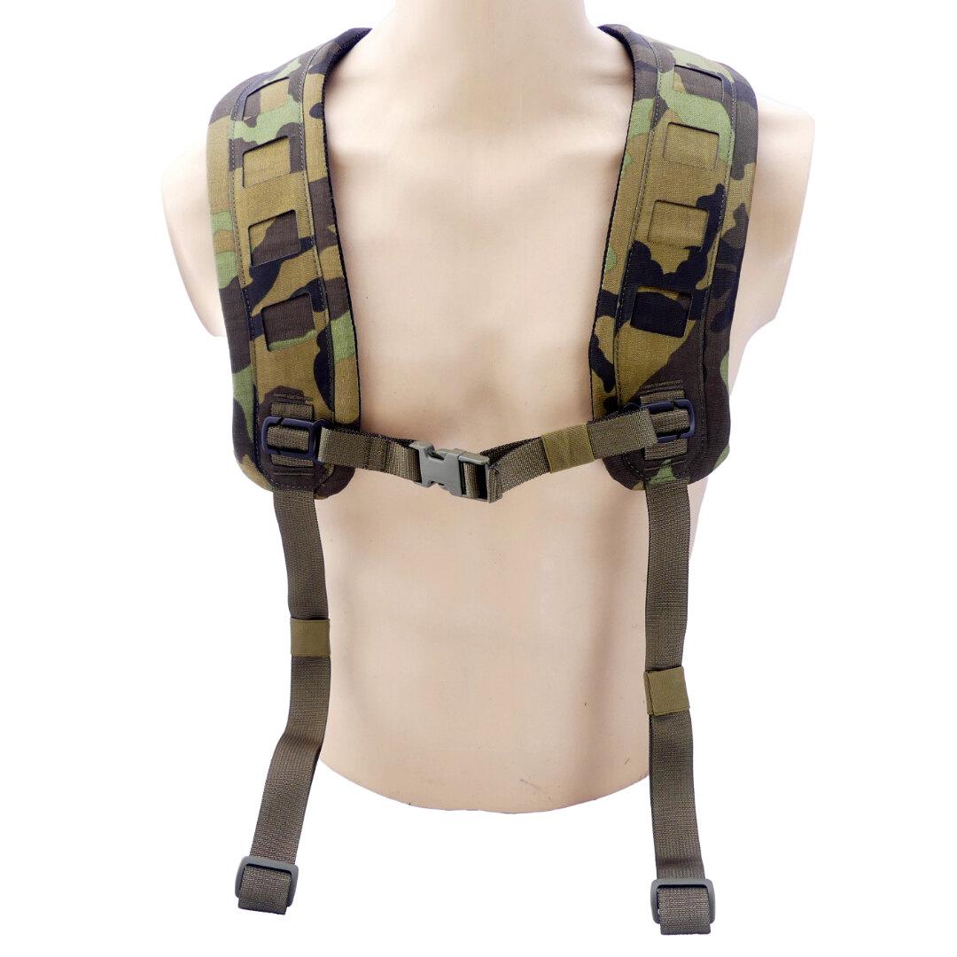 Nosné popruhy H-Harness 6 Point Templar's Gear® (Barva: Vzor 95 woodland )