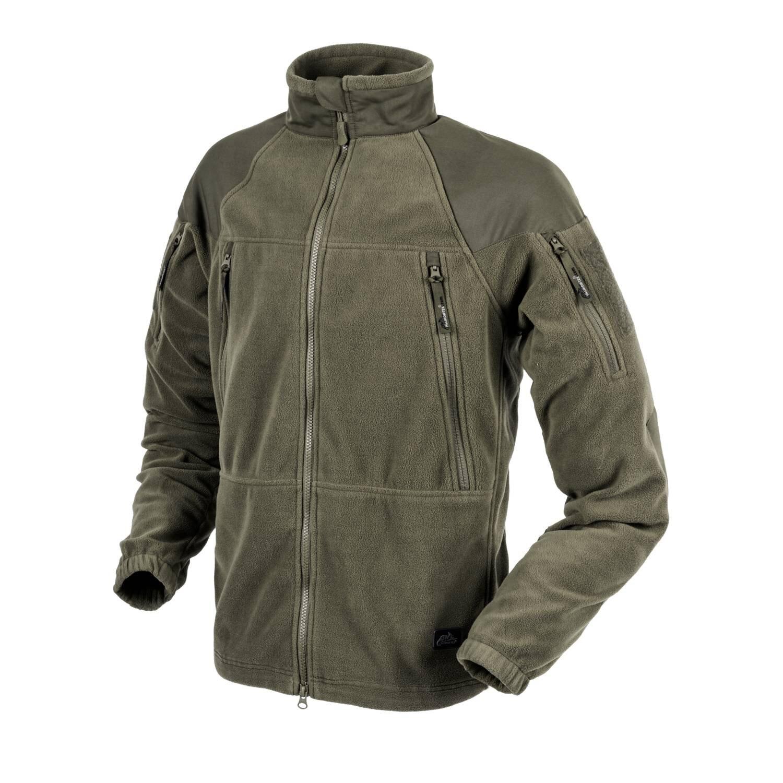 Levně Fleecová mikina Helikon-Tex® Stratus® – Taiga Green (Barva: Taiga Green, Velikost: L)