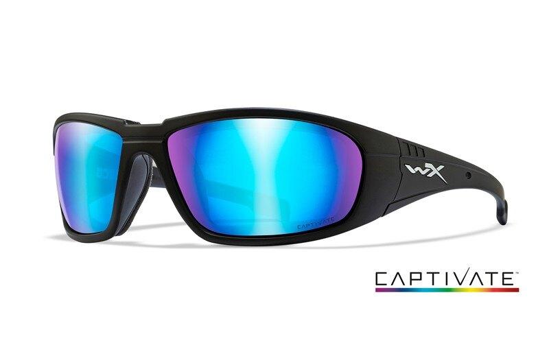 Sluneční brýle Boss Captivate Wiley X® (Barva: Černá, Čočky: Captivate modré polarizované)