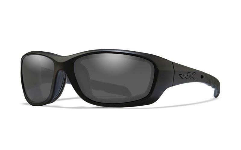 Sluneční brýle Gravity Wiley X® – Kouřově šedé, Černá (Barva: Černá, Čočky: Kouřově šedé)