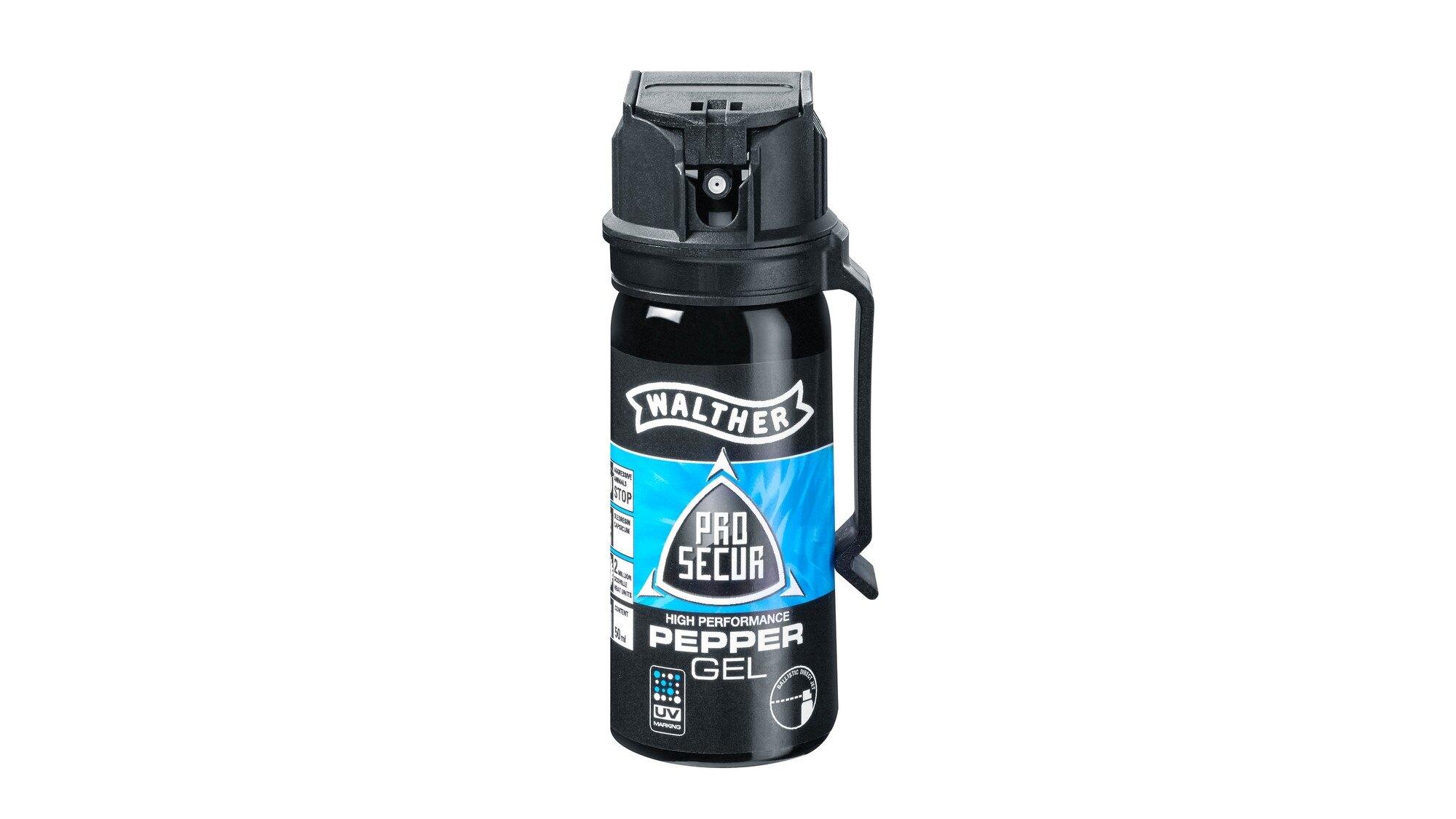 Obranný sprej JET ProSecur UV Walther® 50 ml (Barva: Černá)