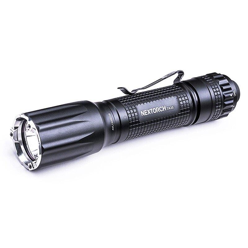 Svítilna TA30 V2.0 / 1300 lm NexTorch® (Barva: Černá)