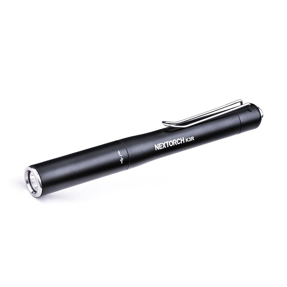 Svítilna Light Pen K3R / 350 lm NexTorch® (Barva: Černá)