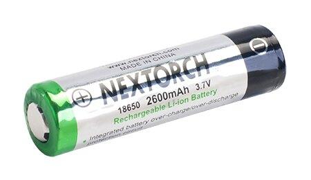 Dobíjecí baterie 18650 (2600 mAh) NexTorch® (Barva: Vícebarevná)