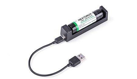 Nabíječka na baterie DC10 NexTorch® (Barva: Černá)