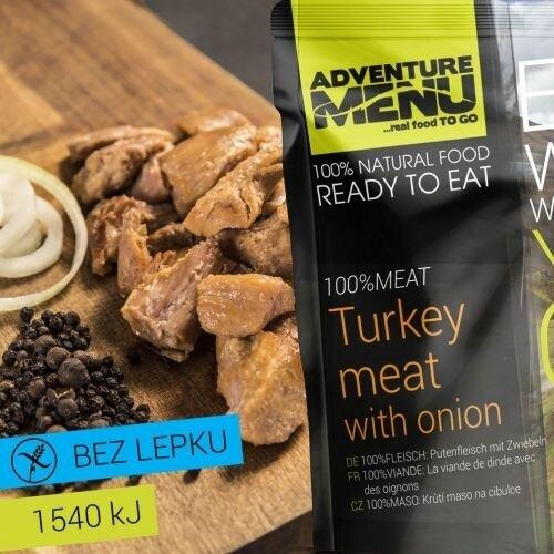 Adventure Menu® - 100% MÄSO Morčacie mäso na cibuľke