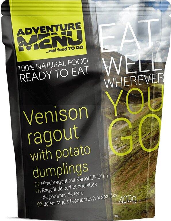 Adventure Menu® - Jelení ragú s bramborovými špalíčky