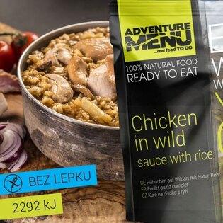 Adventure Menu® - Kuře na divoko s rýží 400g