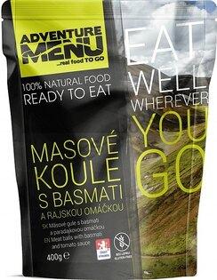 Adventure Menu® - Masové koule s basmati a rajskou omáčkou
