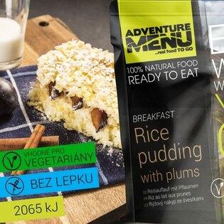 Adventure Menu® - Rýžový nákyp se švestkami 250g