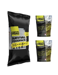 Adventure Menu® - Survival Food Pack - Menu II